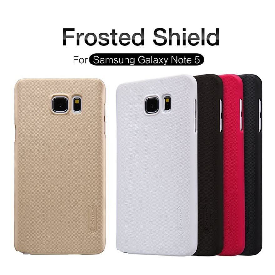 For-Samsung-Galaxy-Note-5-case-Nillkin-Super-Frosted-shield-series-hard-PC-back-cover-case
