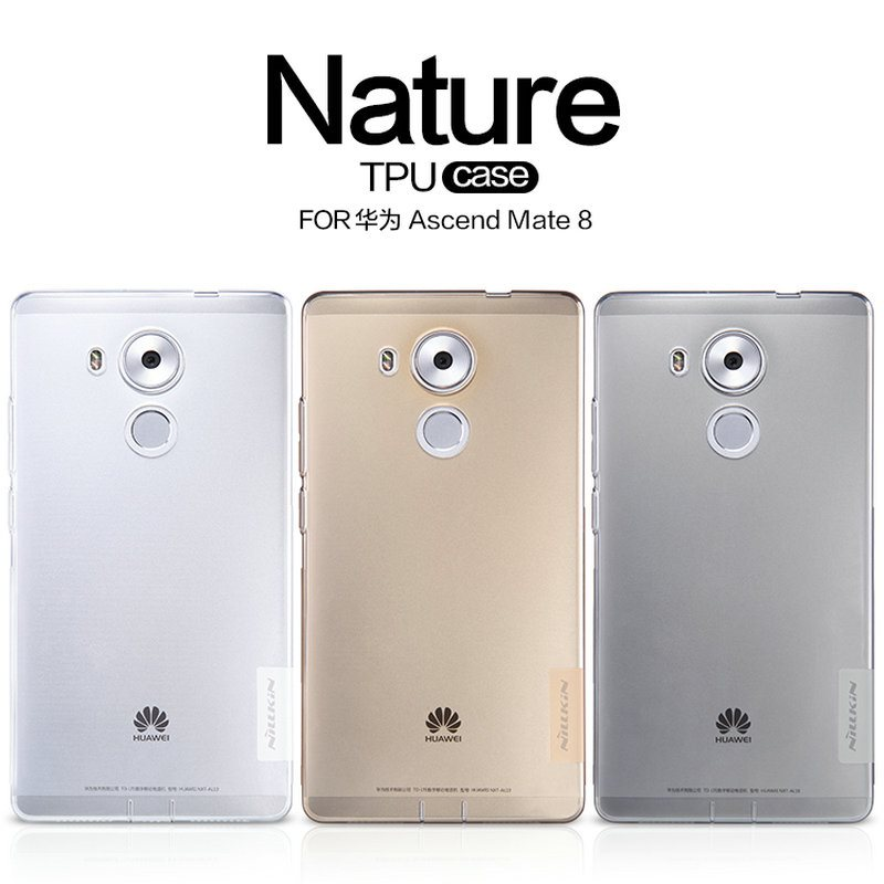 -Nillkin-Brand-Huawei-Ascend-Mate-8-case-Ultra-thin-Transparent-TPU-Soft-Protective-Back-Cover