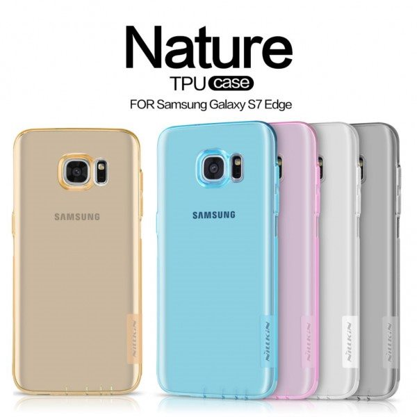 Nillkin-For-Samsung-Galaxy-S7-Edge-G9350-Cover-Hight-Quality-Ultra-Thin-Transparent-TPU-Case-Back