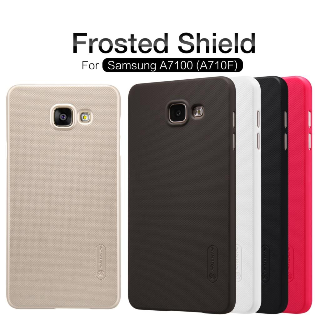 Nillkin-Frosted-Shield-Cell-Phone-Case-For-Samsung-Galaxy-A710f-A7100-A710-A7-2016-1