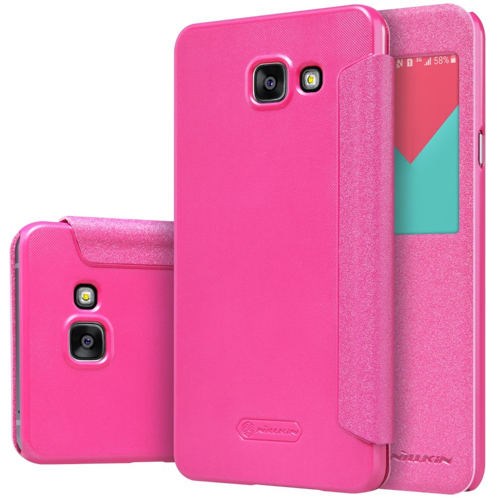 Original-Case-for-Samsung-Galaxy-A7-2016-A710F-A7100-Flip-Case-View-Window-PU-1
