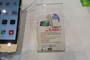 Lenovo วางจำหน่าย 'Vibe P1′ แบตอึด 5000 mAh บอดี้โลหะ 9,990 บาท #mobileexpo
