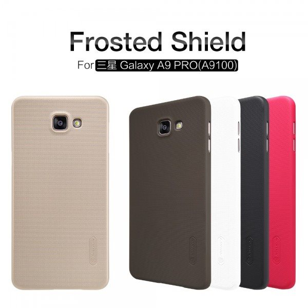 For-Samsung-A9-Pro-Nillkin-Super-Frosted-Shield-Ca1se-Back-Cover-For-Samsung-Galaxy-A9-Pro