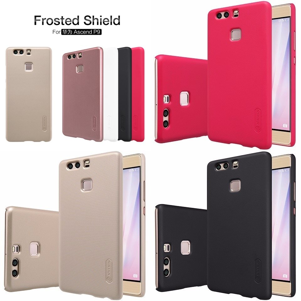 Huawei-P9-Case-Nillkin-Frosted-Shield-Hard-Plastic-Back-Cover-Case-for-Huawei-Ascend-P9-5-tile
