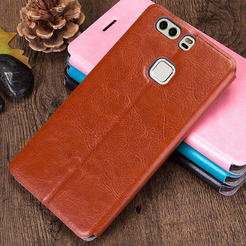 Mofi-Luxury-PU-Flip-Leather-Cover-Case-For-Huawei-P9-Plus-P9plus-Stand-Function-Wallet-