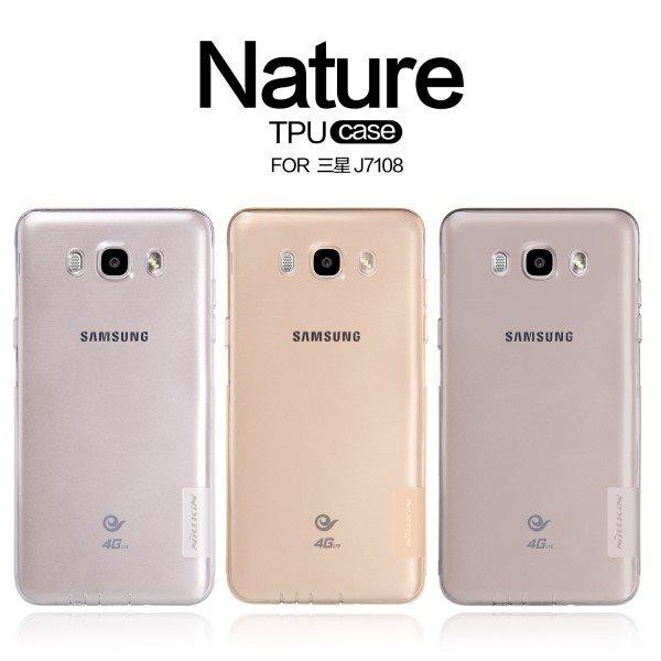 Original-Nillkin-Brand2-Soft-Silicon-Case-for-Samsung-Galaxy-J7-2016-J710-J7108-Not-J7-2015