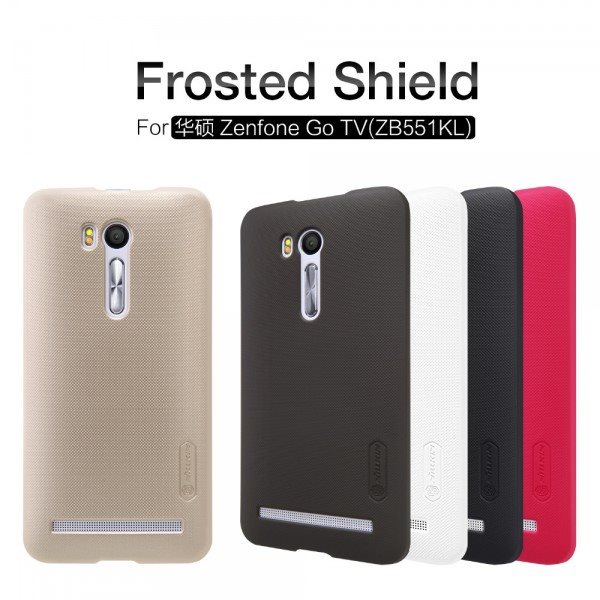 NILLKIN-for-ASUS-Zenfone-Go-TV-ZB551KL-Frosted-Hard-plastic-Case-Back-Cover-with-Free-Protector