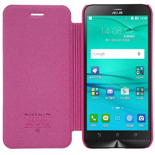 Nillkin-Sparkle-Series-Fashion-PU-leather-case-Flip-Cover-For-Asus-Zenfone-Go-ZB452KG-4-5
