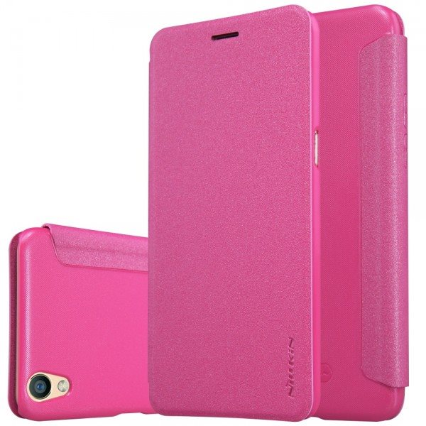 New-Original-NILLKIN-Sparkle-PU-Luxury-Flip-Cover-For-OPPO-R9-Wallet-leather-cas