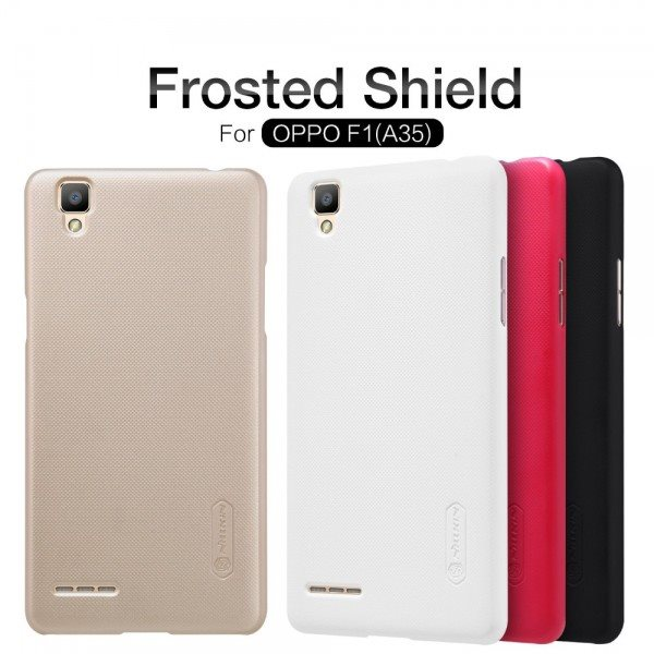 Nillkin-Super-Frosted-Shield-Case-Cover-For-OPPO-F1-A35-A35T-phone-skin-cases-for-oppo