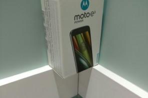 Lenovo ส่ง 'Moto E3 Power' ขายฮ่องกง แบตอึด รองรับ 4G ราคาโดนใจ