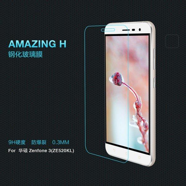 For-Asus-Zenfone-3-ZE520KL-Glass-Screen-protector-NILLKIN-9H-H-Tempered-Glass-Screen-Protector-For