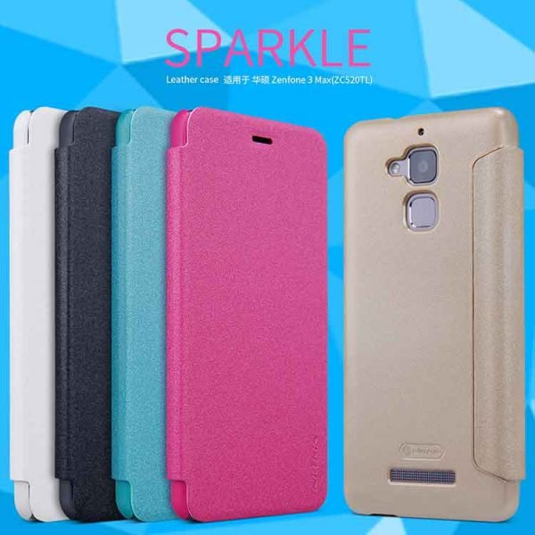 case-for-asus-zenfone-3-max-zc520tl-nillkin-sparkle-super-thin-flip-cover-leather-case-for