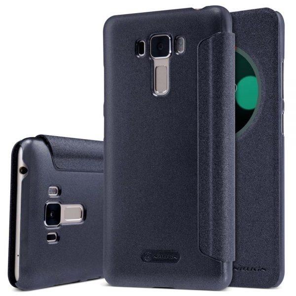 for-asus-zenfone-3-laser-zc551k2l-nillkin-sparkle-smart-window-design-leather-case-for-asus-zenfone