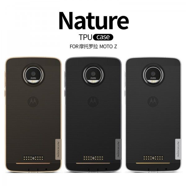 For-Motorola-MOTO-Z-case-6-0-inch-Nillkin-Nature-Series-TPU-Transparent-Clear-Soft-Case
