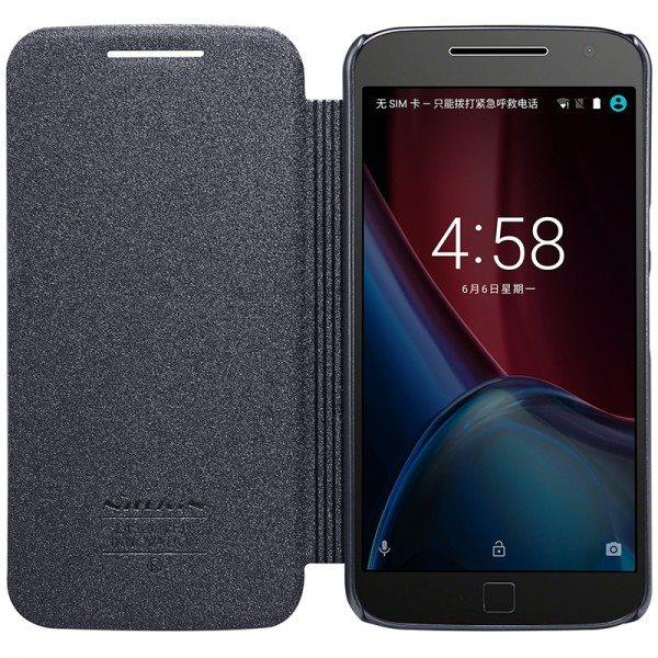 Original-NILLKIN-Sparkle-Flip-Leather-Case-For-Motorola-Moto-G4-Plus-XT1644-G-4-Plus-5