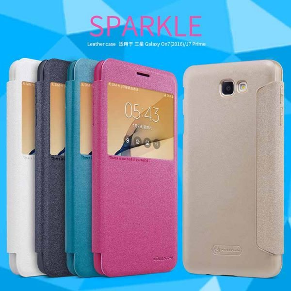 10pcs-lot-wholesale-nillkin-sparkle-window-design-leather-case-for-samsung-galaxy-on7-2016-5