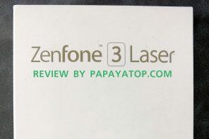 [ Review ] : Asus Zenfone 3 Laser – ออฟชั่นครบ คุ้มค่า ราคาไม่ถึงหมื่น