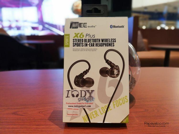 รีวิว MEE Audio X6 Plus หูฟังบลูทูธแนว Sport ค่าตัว 1,5xx