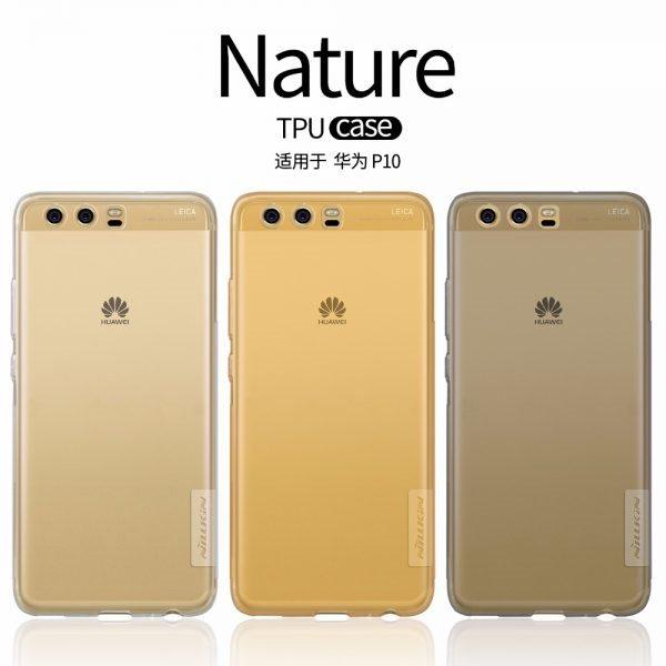 Huawei-P10-Case-Huawei-P10-Plus-Cover-NILLKIN-Nature-Transparent-TPU-Soft-Back-Cover-Case-huawei