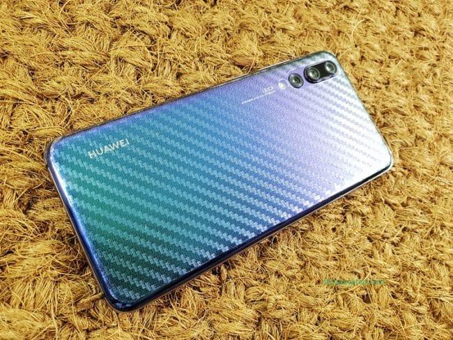 ฟิล์มด้านหลัง Huawei P20 Pro