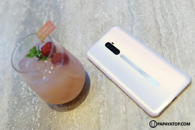 รีวิว oppo reno sunset rose