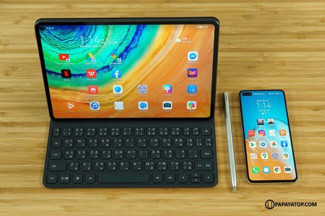 รีวิว matepad pro huawei tablet