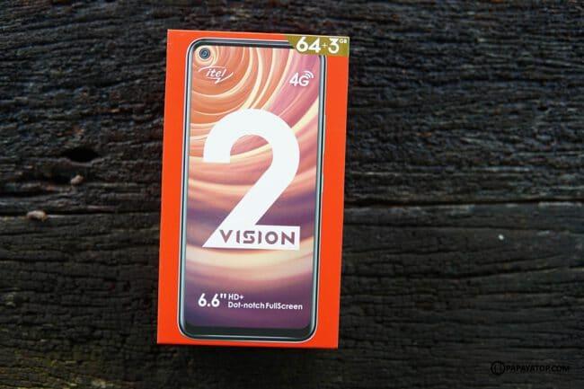 รีวิว itel vision 2